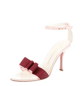 Giuseppe Zanotti Gz Gz Formal Pink Burgundy Sandals