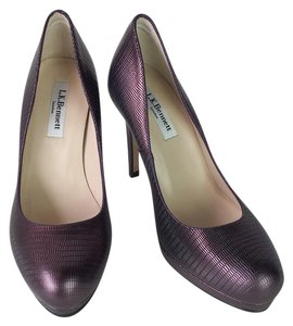L.K. Bennett Purple Pumps