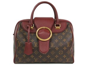 Louis Vuitton Speedy Golden Arrow Lv Golden Arrow Speedy Ltd. Edition Golden Arrow Speedy Golden Arrow Satchel in Monogram Brown and Bordeaux