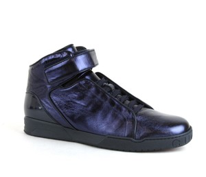 Gucci Men's Napa Shinny High-top Lace-up Velcro 337216 Size 13.5 G/us 14