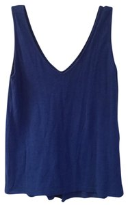 Lilly Pulitzer vneck tank top Top Blue crush