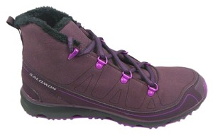 Salomon Purple Boots