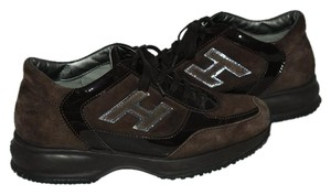Hogan Sneaker Suede brown Athletic