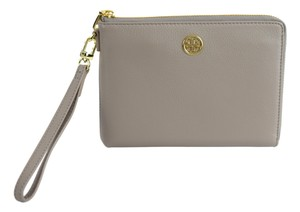 Tory Burch 18169279 Wristlet in French Gray