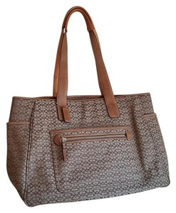 Coach Tote in Brown Tan