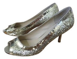 Talbots Metallic Sparkel Gold Pump Gold, sparkle Pumps