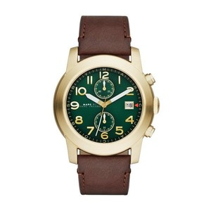 Marc by Marc Jacobs Marc Jacobs Women's Larry Brown Leather Watch MBM5083