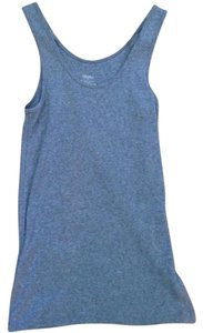 Mossimo Supply Co. Sleeveless Knit Top Grey and Navy
