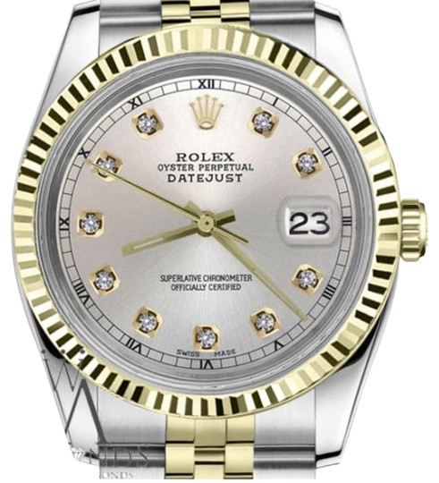 Preload https://img-static.tradesy.com/item/19409040/rolex-men-s-36mm-datejust2tone-silver-color-dial-with-diamond-accent-rt-watch-0-1-540-540.jpg