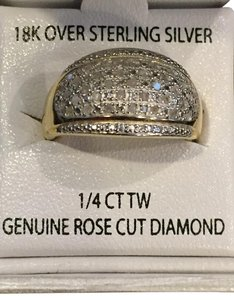 Victoria Townsend DIAMOND RING BY VICTORIA TOWNSEND/Dome Shape