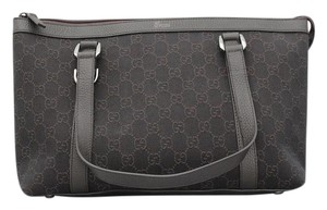 Gucci Abbey D-ring Tote in Dark Brown