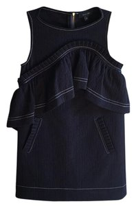 Karen Walker short dress Navy on Tradesy