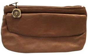 Leather Made In Florence Zipper Pouch