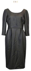 Gucci Holed Mesh Detail Dress