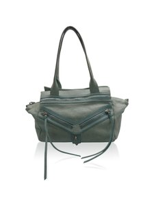Botkier Silver Zippers Shoulder Bag