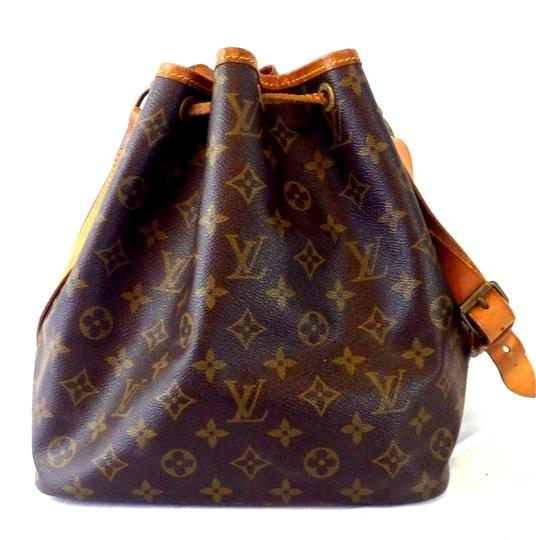 Louis Vuitton Noe Monogram Vintage Tote Satchel in Brown