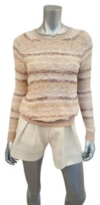 American Eagle Outfitters Boucle Metallic Crewneck Sweater