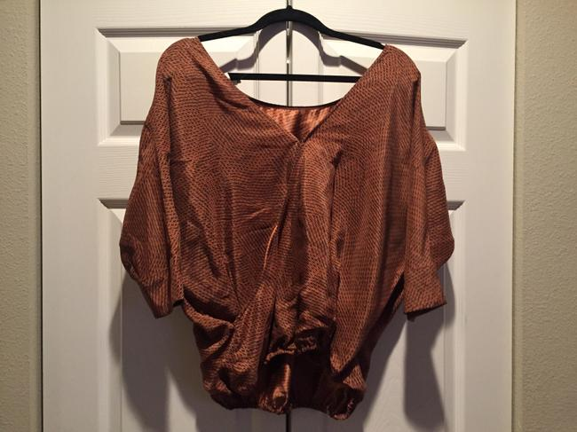Joie Top Rusty Red