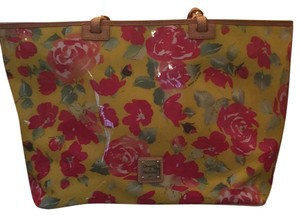 Dooney & Bourke Tote in Yellow Floral