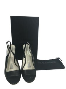 Jil Sander Heels Black Pumps