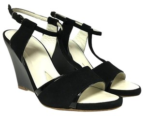 Jil Sander Kil Wedges Black Sandals