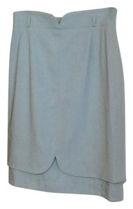 Escada Skirt Light Blue