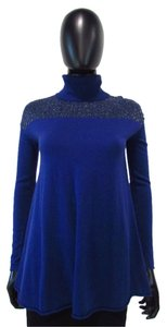 Catherine Malandrino Sweater Top Blue