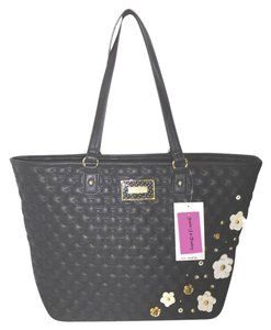 Betsey Johnson Pouch Tote in black