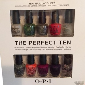 OPI OPI Icons Of Happiness The Perfect Ten Coca-cola Collection 100 Years