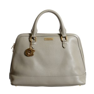 Versace Collection Satchel in Gray