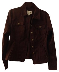 Live A Little brown Womens Jean Jacket