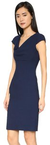Black Halo Blue Halo Rolan Mouret Dress