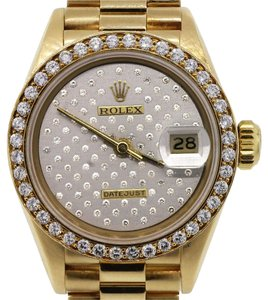 Rolex Rolex 69178 Datejust Gold Diamond Dial Ladies Watch