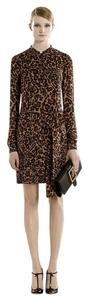 Gucci short dress Multi-Color Runway Print Silk Shirt on Tradesy