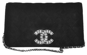 Chanel Suede Black Suede Shoulder Bag