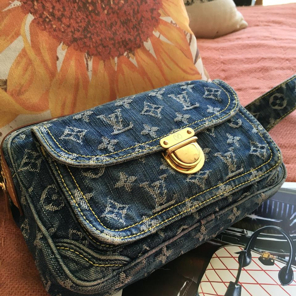 caa1c63b92a Blue Bum bag Denim