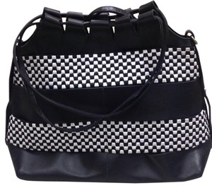 Giorgio Armani Satchel in Black & White