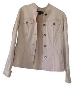 Jones New York tan Womens Jean Jacket
