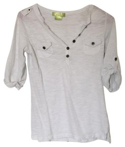 Level Up Button Down Shirt White