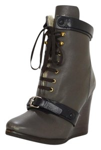 Chlo Boot Bootie Wedge Shearling Boots