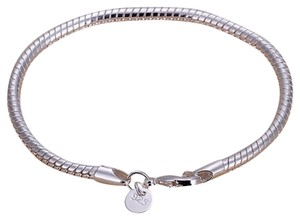 Sears NEW Sterling Silver Snake Bracelet, Hallmarked 925, SZ 7.5inch, 8.4 grams (2 AVAILABLE).