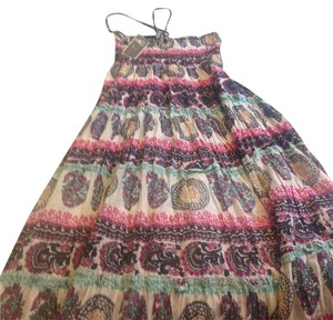 multi Maxi Dress by Vintage Havana