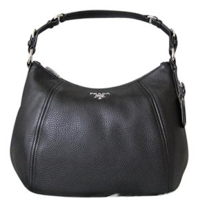 Prada Sacca Br5096 Vitello Phenix Hobo Bag