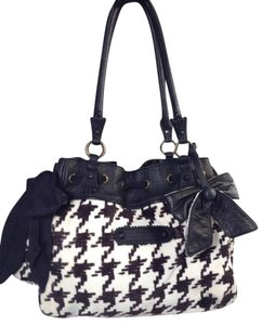 Juicy Couture Houndstooth Daydreamer Handbag Shoulder Bag