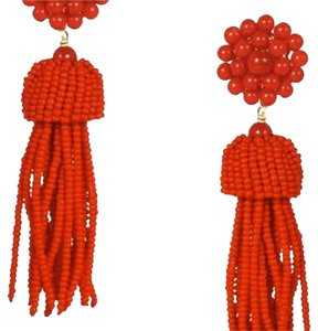 Lisi Lerch Tassel Earrings Clip On