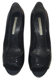 Vera Wang Lavender Label Black Platforms