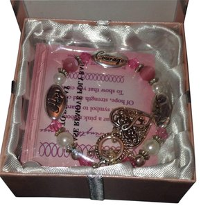 Expressively yours NWT Breast cancer awareness bracelet
