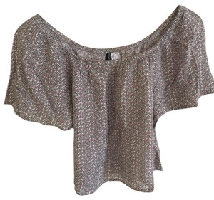 H&M Top Pink/Grey