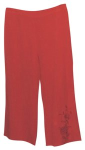 Coldwater Creek Capris Red