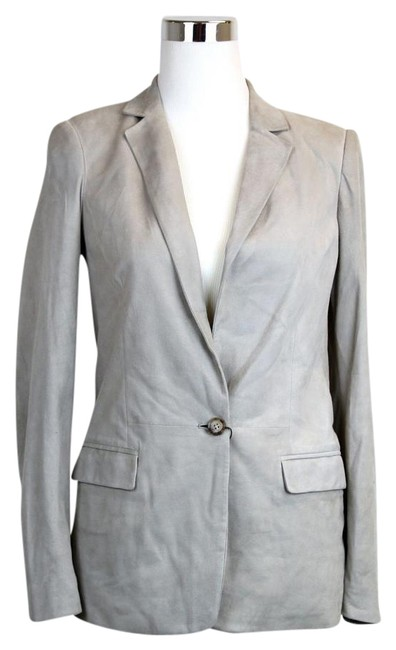 Preload https://img-static.tradesy.com/item/19411471/gucci-light-gray-new-women-s-suede-jacket-42-340441-9601-blazer-size-6-s-0-1-650-650.jpg